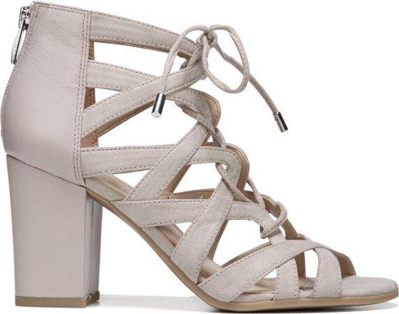 7b39c0098fa2 Franco Sarto Meena Taupe Heel - The Shoe Boutique