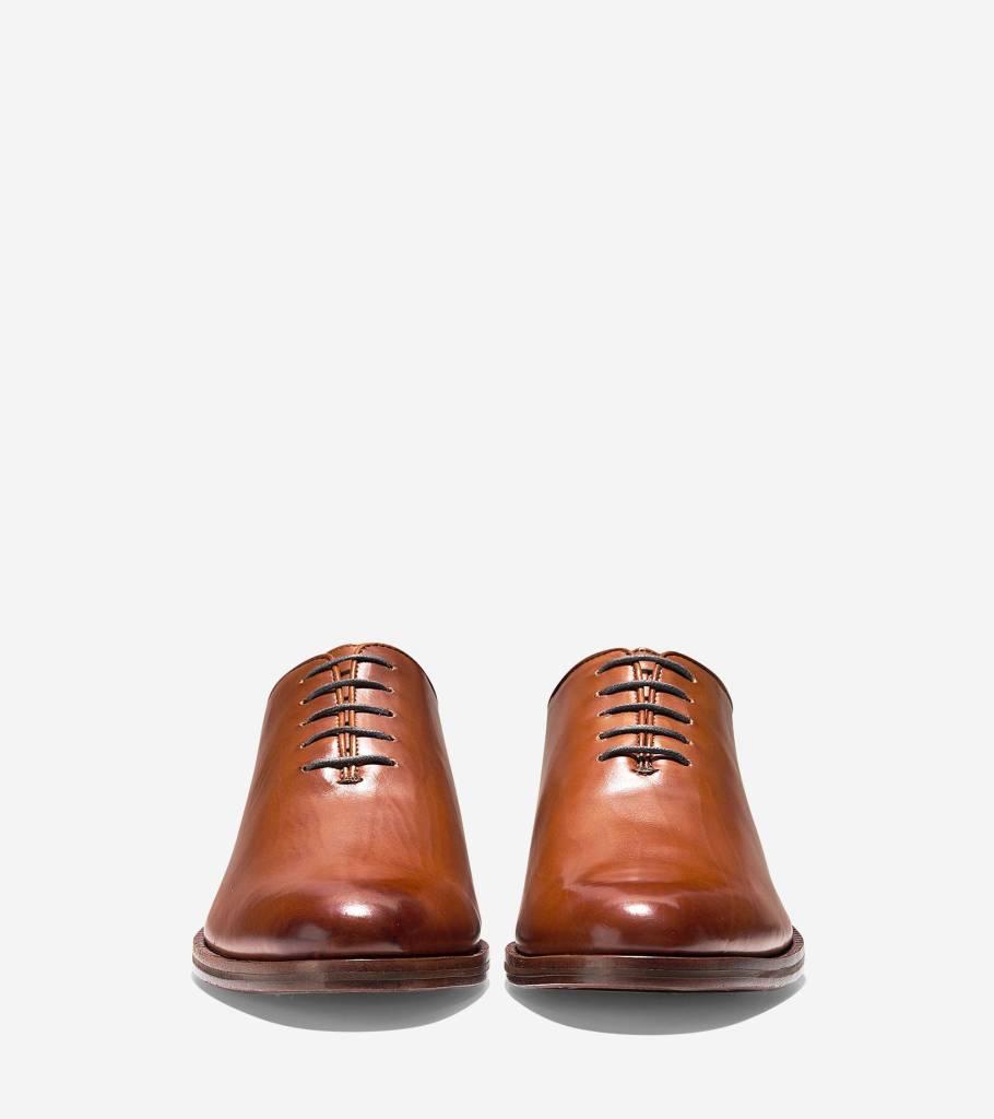 Cole Haan Cole Haan Washington Grand Wholecut Oxford British Tan Dress Shoe