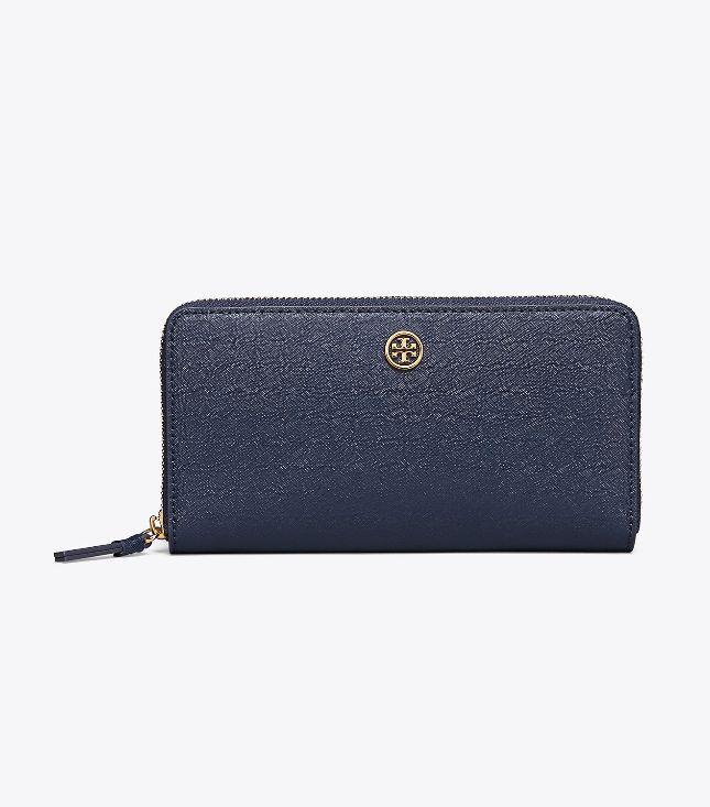 Tory Burch Tory Burch Robinson Continental Royal Navy Wallet