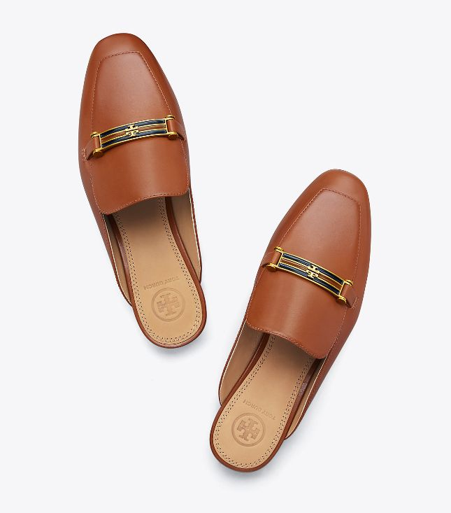 093cfb692 Tory Burch Amelia Backless Perfect Cuoio Loafer - The Shoe Boutique