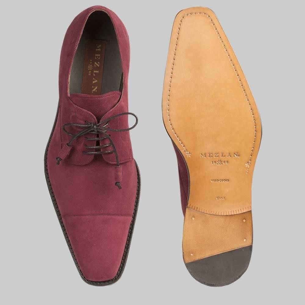 Mezlan Mezlan Soka Grape Dress Shoe