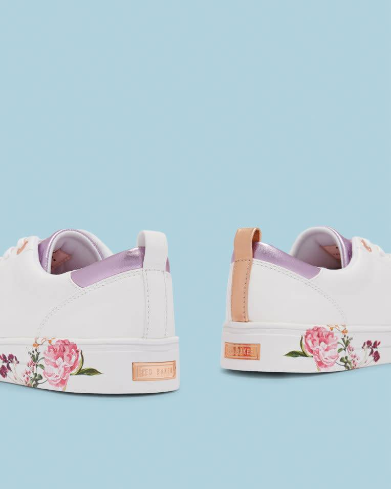 Ted Baker Ted Baker Giellip White/Serenity Casual Shoe
