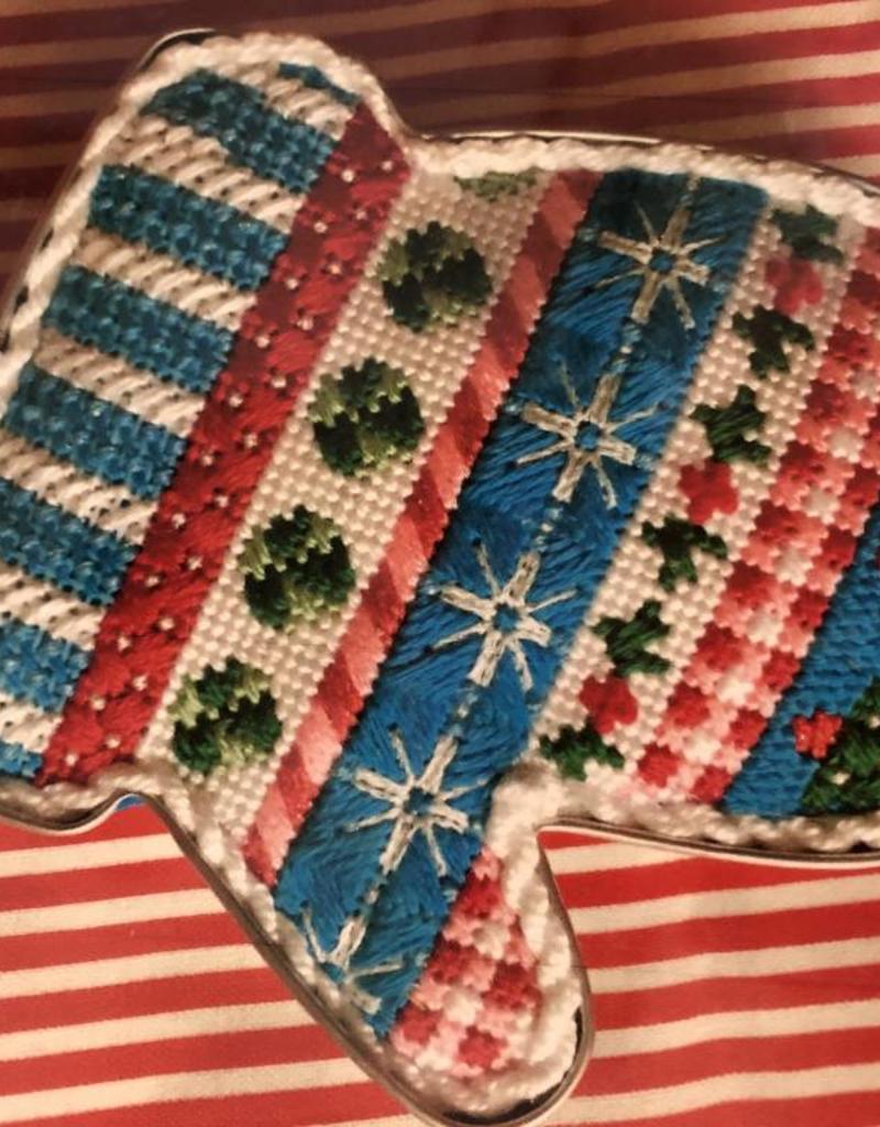 Christmas Mitten Cookie Cutter Fiber Kit