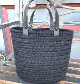 USA Wool Basket Black, Small