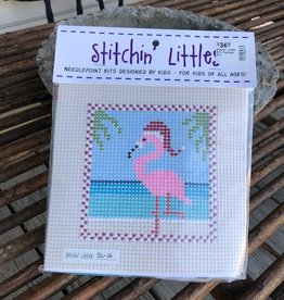 Stitchin' Littles #16, Flamingo Fun
