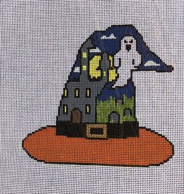 KCD1124 Haunted House Witch's Hat (18M)