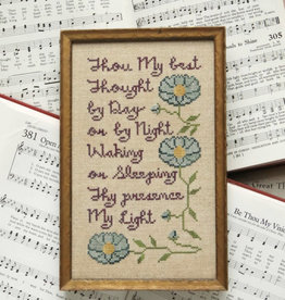 Sunday Stitches:  Be Thou My Vision (Heartstring)