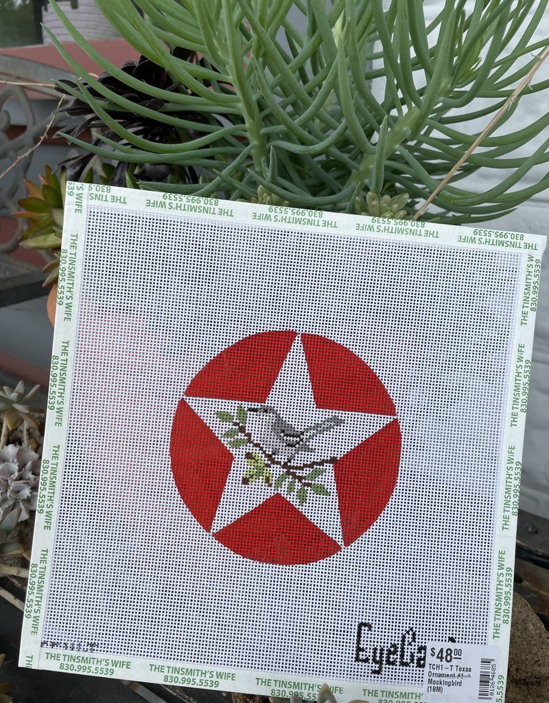 TCH1-T Texas Ornament #1 - Mockingbird  (18M)