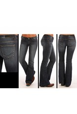 Rock and Roll Cowgirl Rock and Roll Cowgirl High Rise Trouser Jean DK Vintage