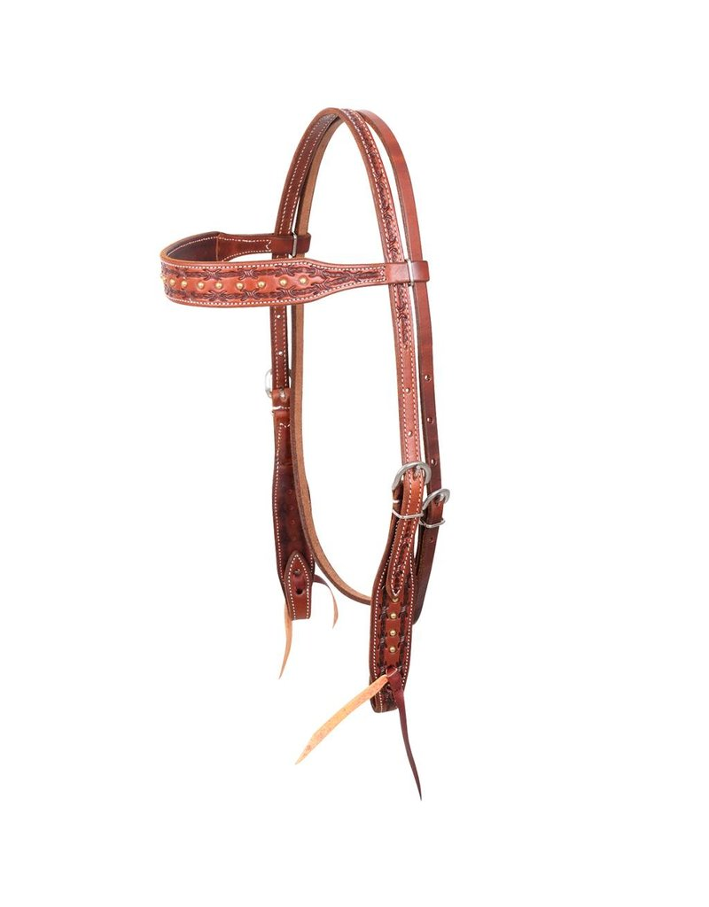 Martin Saddlery HEADSTALL BARBWIRE