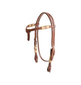 Cashel HEADSTALL TIEFRONT RAWHIDE TRIM