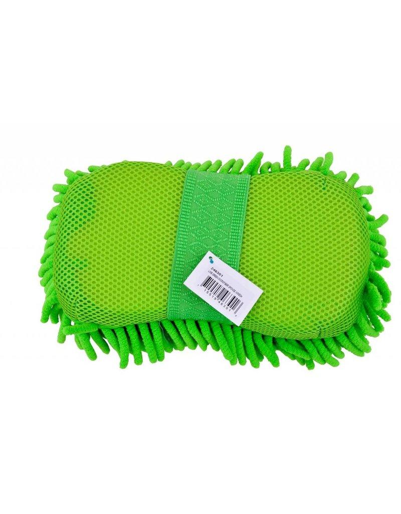 PARTRADE          P Microfiber Sponge w/mesh Lime