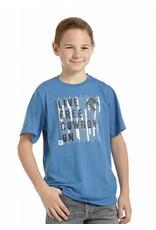 Panhandle Boys blue/live free SS Tee