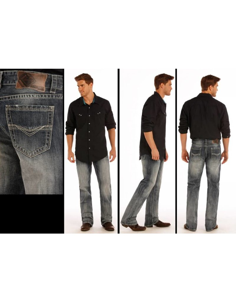 Rock and Roll Cowboy Rock and Roll Denim Double Barrel Straight