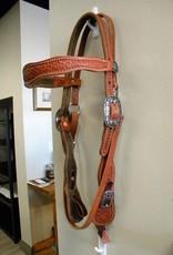 JR's Custom Saddlery JR Custom Headstall Basket Tooling