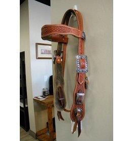 JR's Custom Saddlery JR Custom Headstall Old Timer Basket