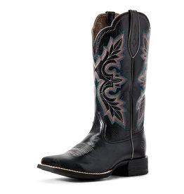 Ariat Sport Wide Square Black Deertan