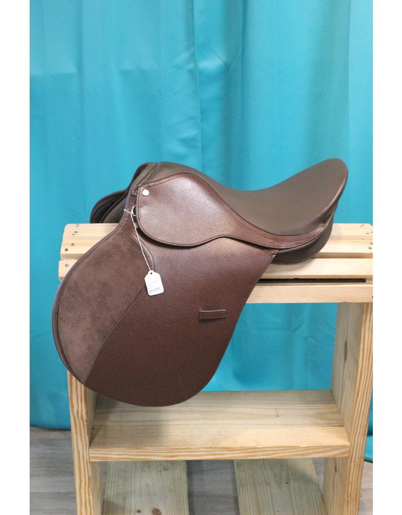 English Mahogany/Brown Saddle 16in