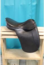 English Dressage Saddle Black  16in