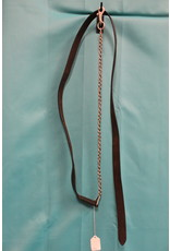 Leather Lead w/ Chain