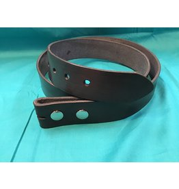 Custom Leather Belt Stained w/out Keeper