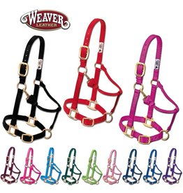 Weaver Leather Halters Adjustable Chin/Throat
