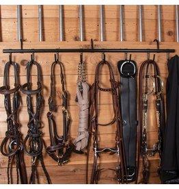 Tack Rack Black 9 Swvl Hooks
