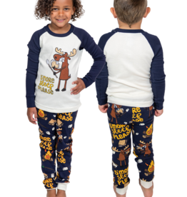 Lazy one Kids PJ Set Long Sleeve