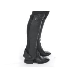Lami-Cell Leather Half Chaps XL