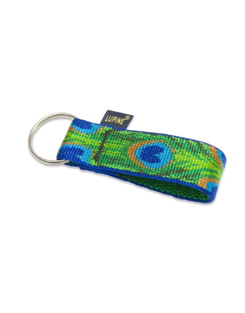 Lupine Keychain