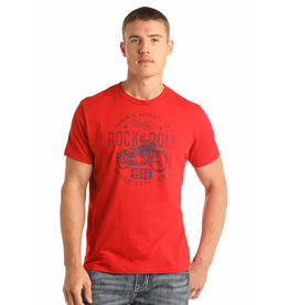 Rock and Roll Cowboy Men's SS Vintage T-Shirt