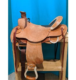Chas Cox Chas Cox Roping Saddle FQHB 16""