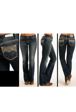 Rock and Roll Cowgirl Rock and Roll Cowgirl Low Rise Boot Cut DK Vintage
