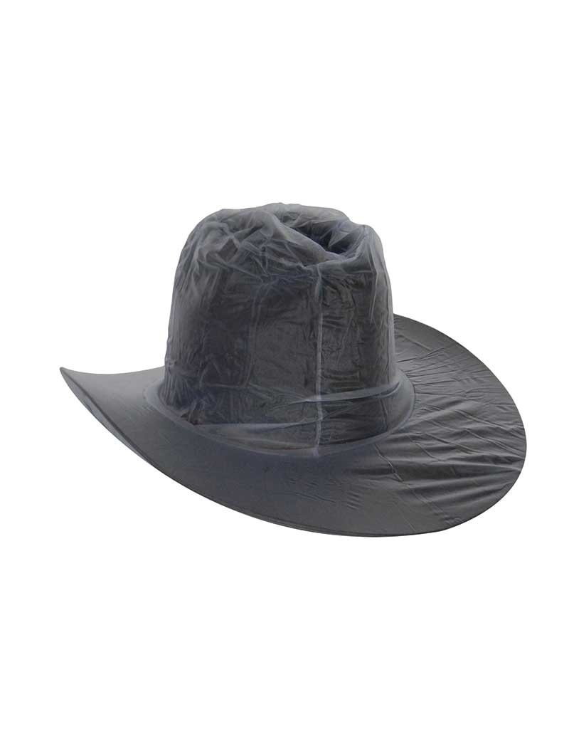 Clear Western Hat Cover L