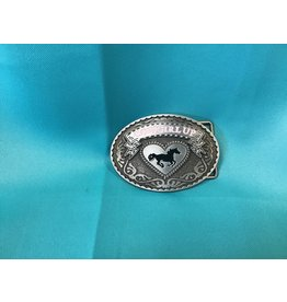 Western Cowgirl Up Belt Buckle