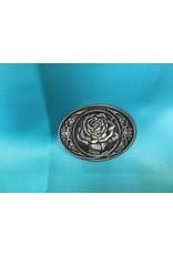 Western Cowgirl Vintage Rose Belt Buckle AS