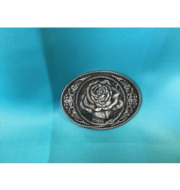 Western Cowgirl Vintage Rose Belt Buckle AS