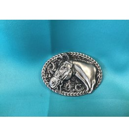 Western Horse Head Belt Buckle AS
