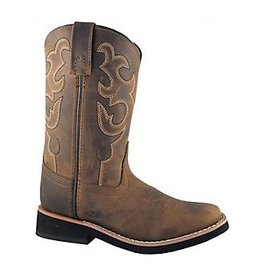 Smoky Mountain Boots Pueblo Leather Square Toe Boots