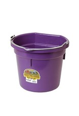Bucket Plastic Flatback 20 QT Purple