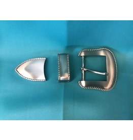 "Western Rope 1.5"" Belt Buckle Set"