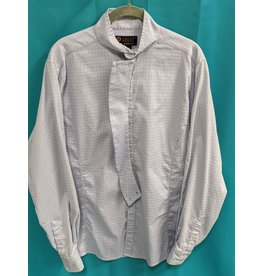 Ariat Ariat Show Shirt Light Blue Plaid 42