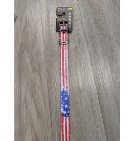 C4 Vintage Americana Dog Collar Large