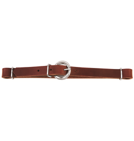 Weaver Leather CURB,LL,STRAIGHT,BURGUNDY