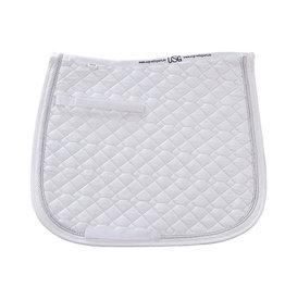 USG USG Full Dressage Saddle Pad White