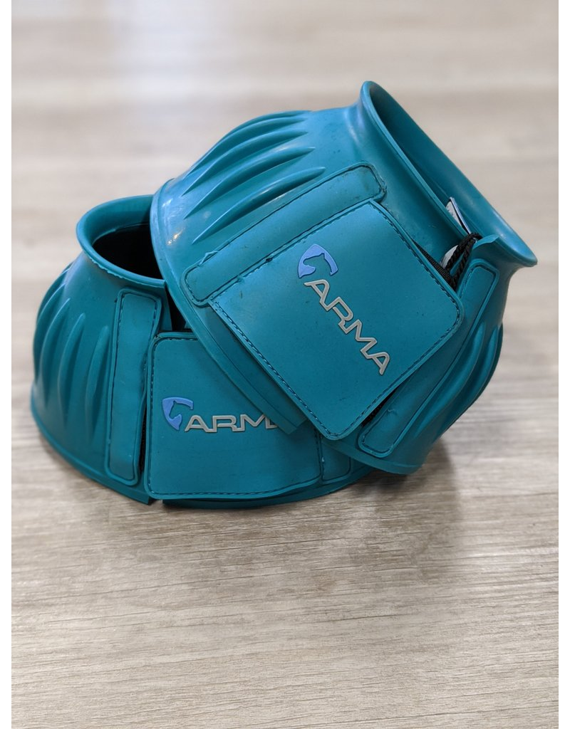 Arma Arma Bell Boots Full Teal