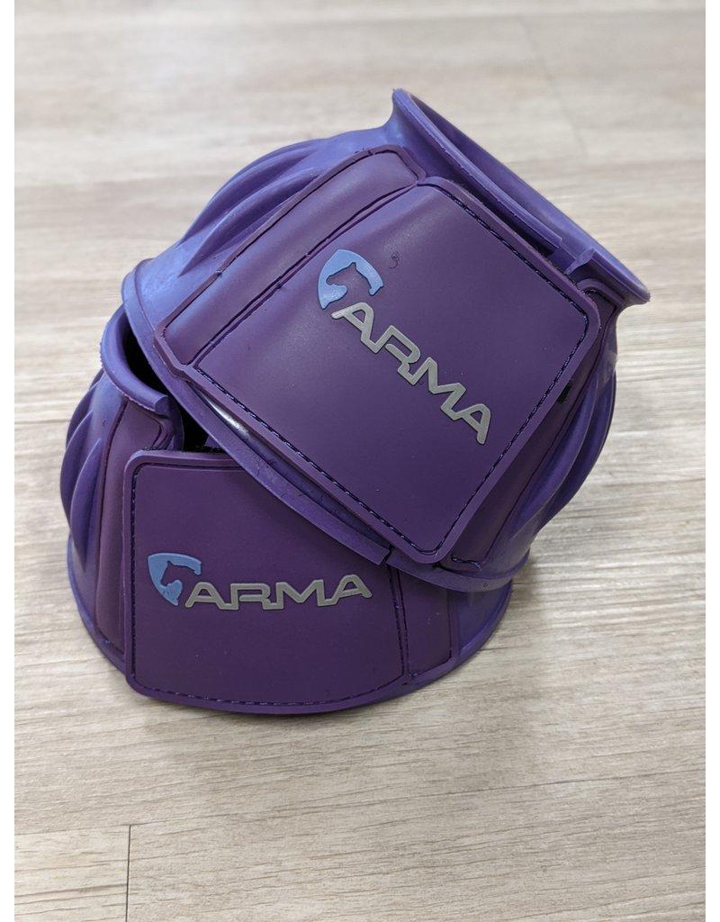 Arma Arma Bell Boots Pony Purple