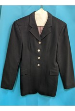 Elite Dressage Coat Wool Blk 12-R