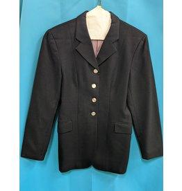 Elite Dressage Coat Wool Blk 12-R