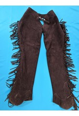 Hobby Horse Chaps Brown L w/ Stretch Zipper